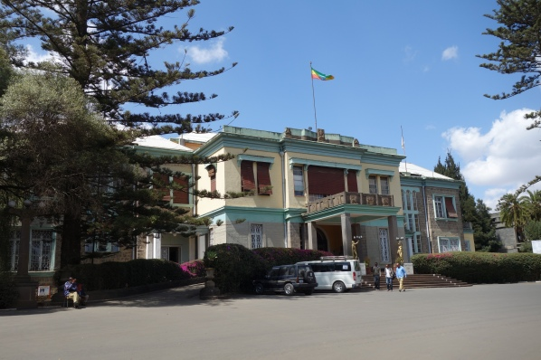 Haile Selassie's Guenete Leul palace, home to the Ethnological Museum.