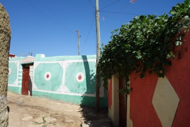 Houses in Harar.