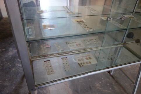 More old coins! They had a whole room full of these cabinets at the Harar National Museum.