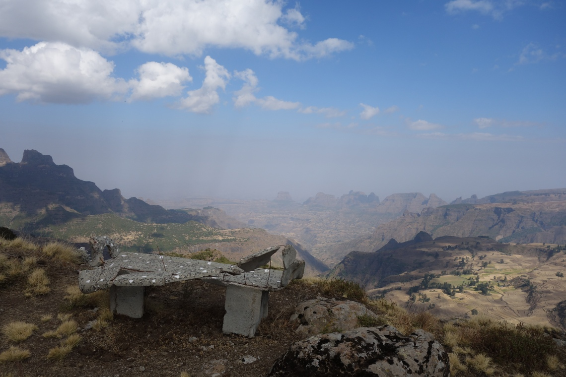 simien-mountains-bench