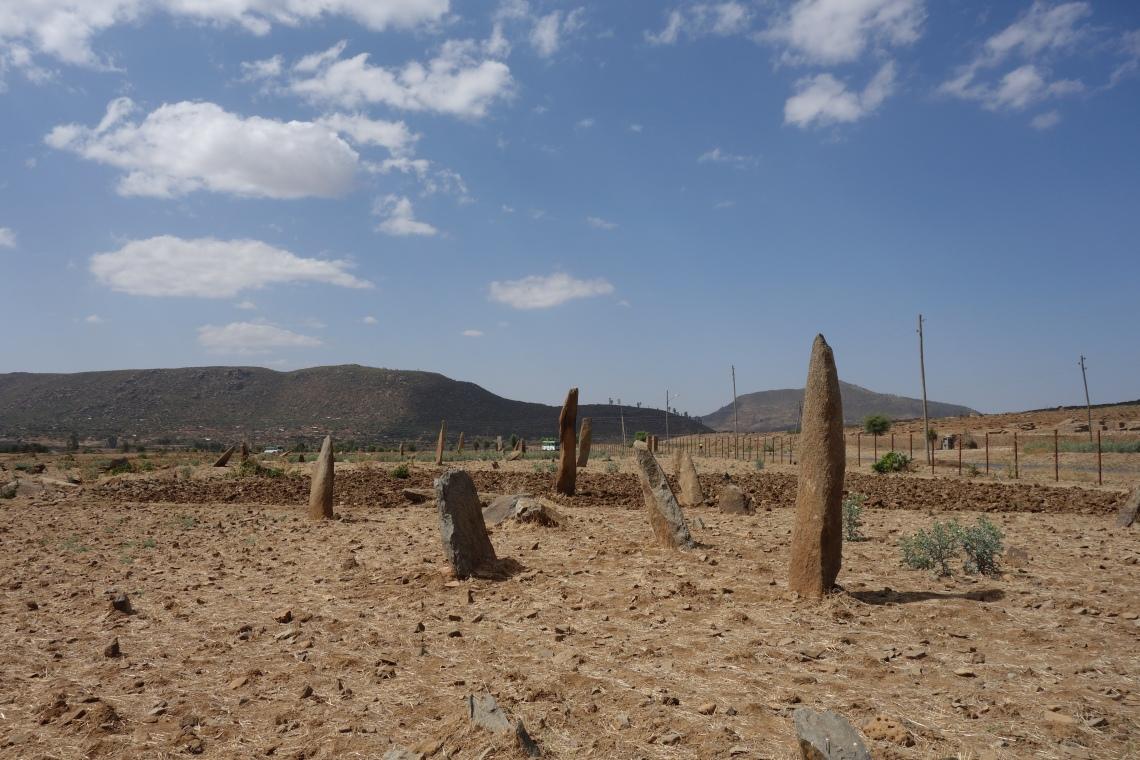 gudit stelae field axum aksum