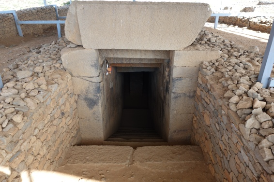 Entrance to the tomb of King Kaleb.