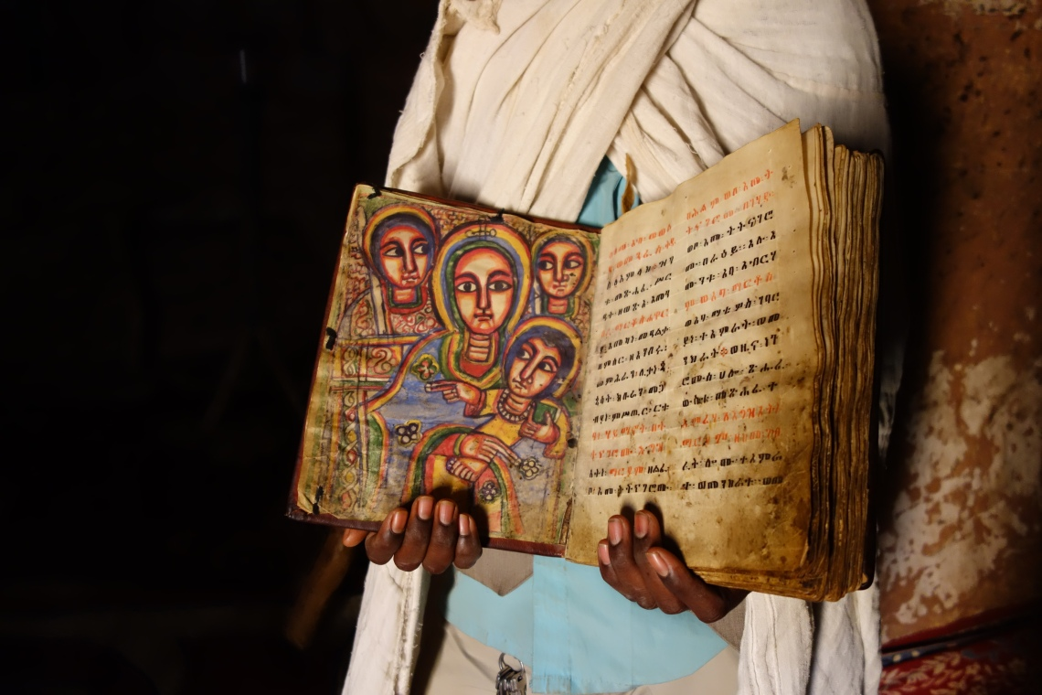 abuna yemata guh bible tigray churches orthodox ethiopia travel blog geez caligraphy