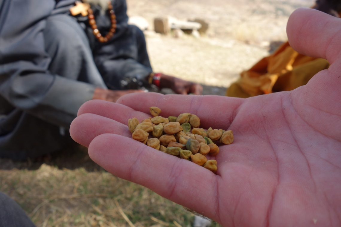 debre damo chickpeas monks tigray churches ethiopia travel blog