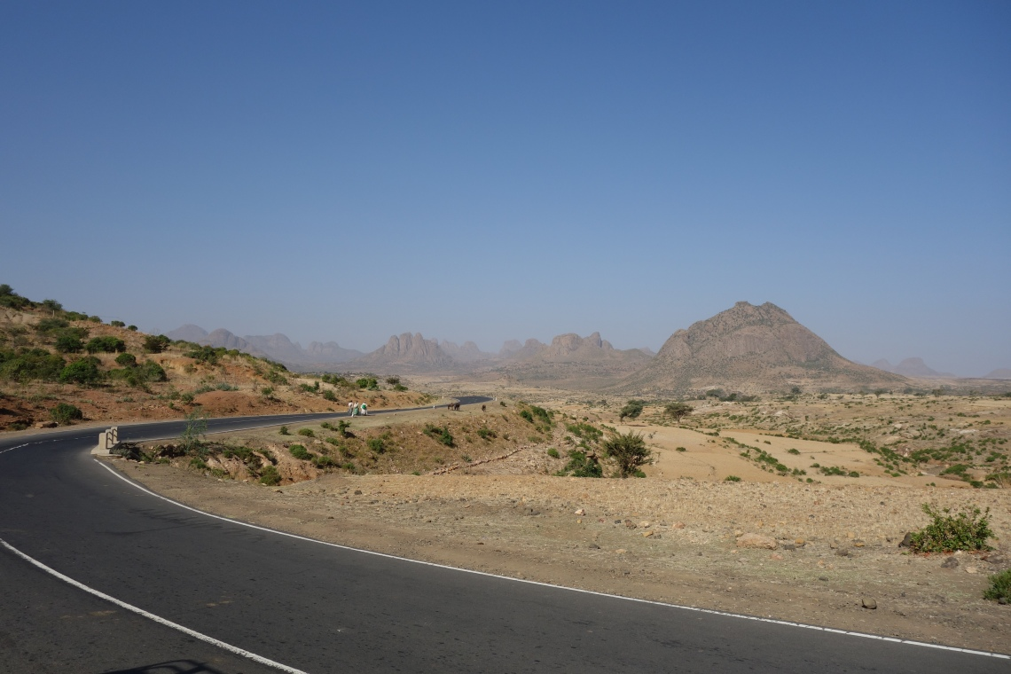 tigray region highway road ethiopia travel blog
