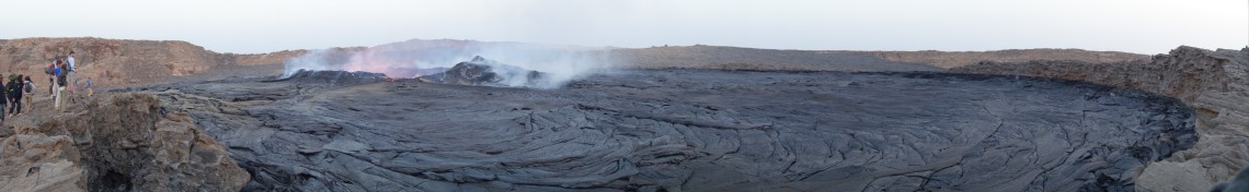 erta ale volcano panorama