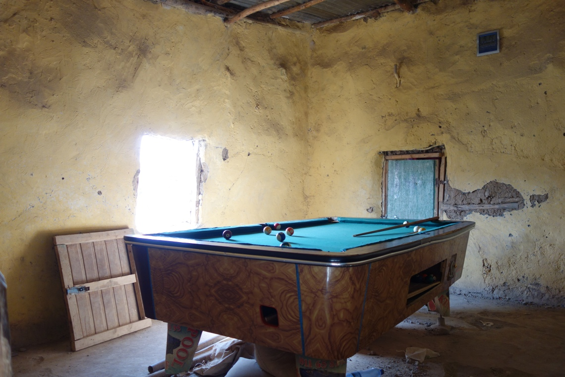 ethiopia pool snooker table