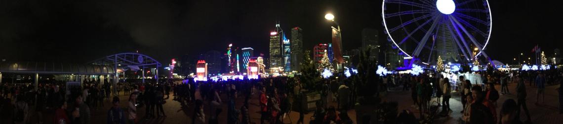 hong kong nye new years eve lights