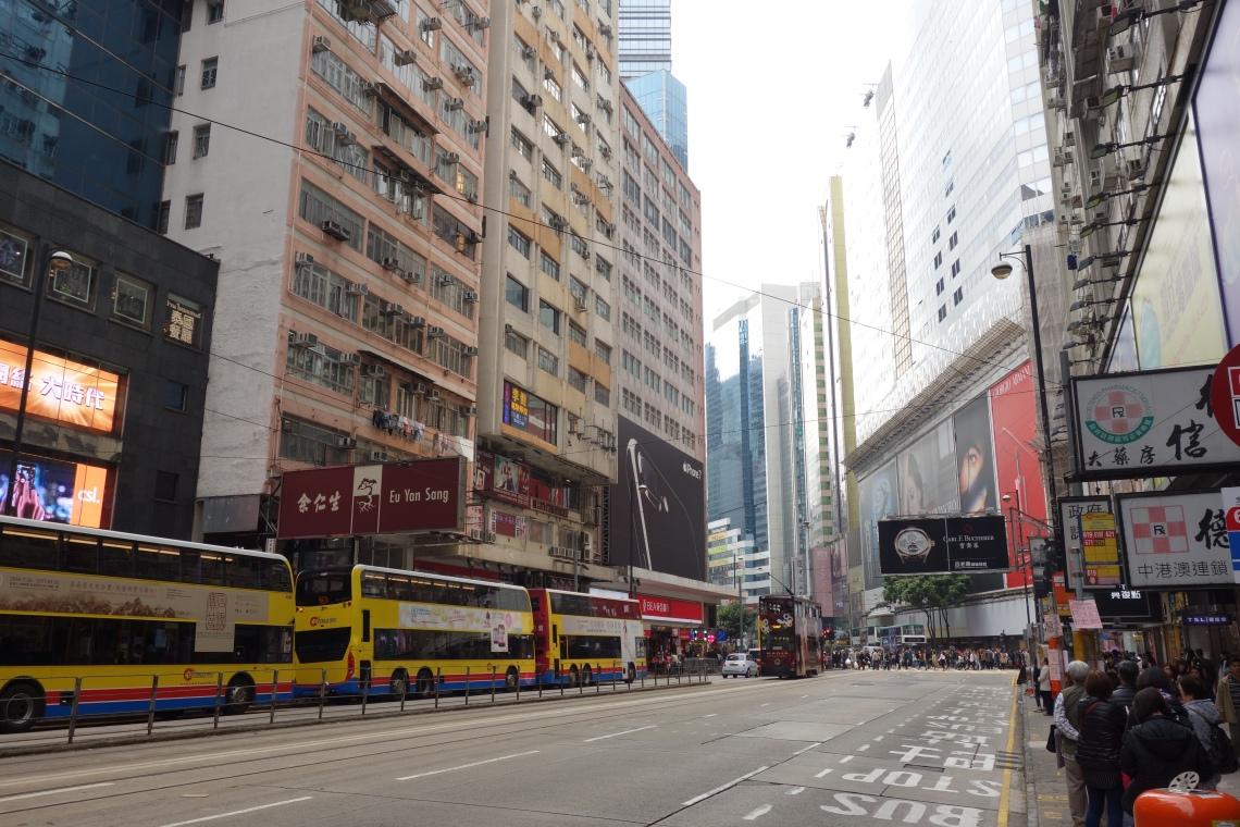 hong kong public transport bus tram travel blog