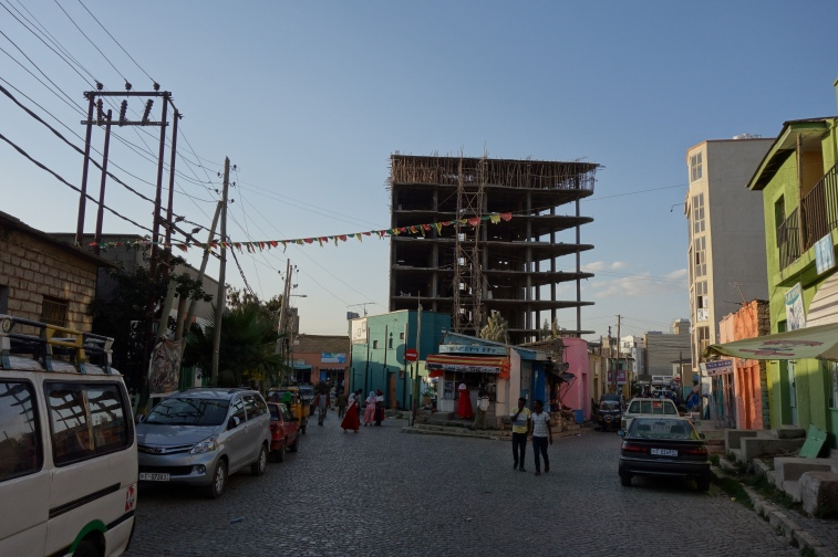 You'll find all sorts of eclectic organisation in the backstreets of Mekele.