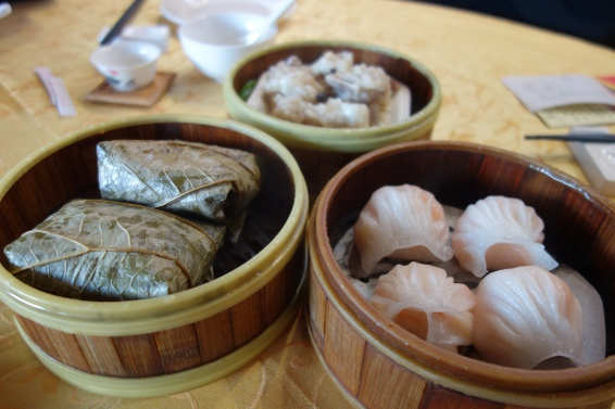 Honestly these dim sum look pretty typical but they were so much nicer than anything I'd had before.