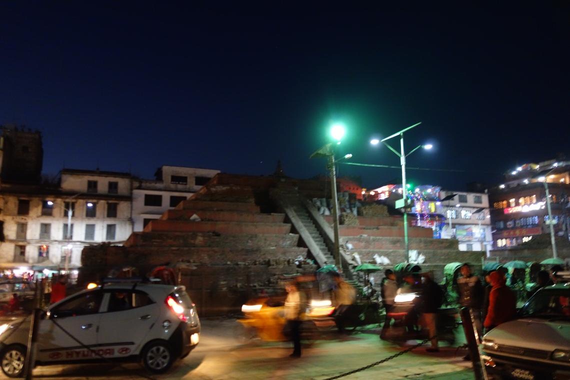 kathmandu durbar square basantapur temple damage (2)
