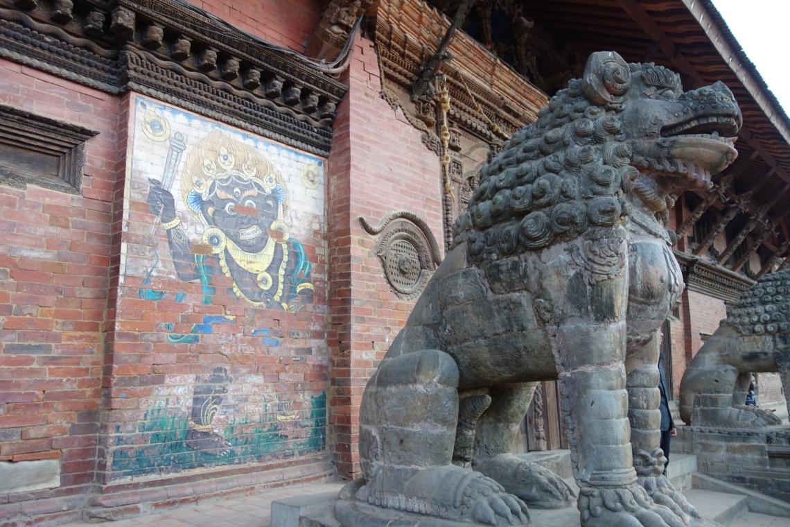 patan durbar square sculpture kathmandu travel blog (2)