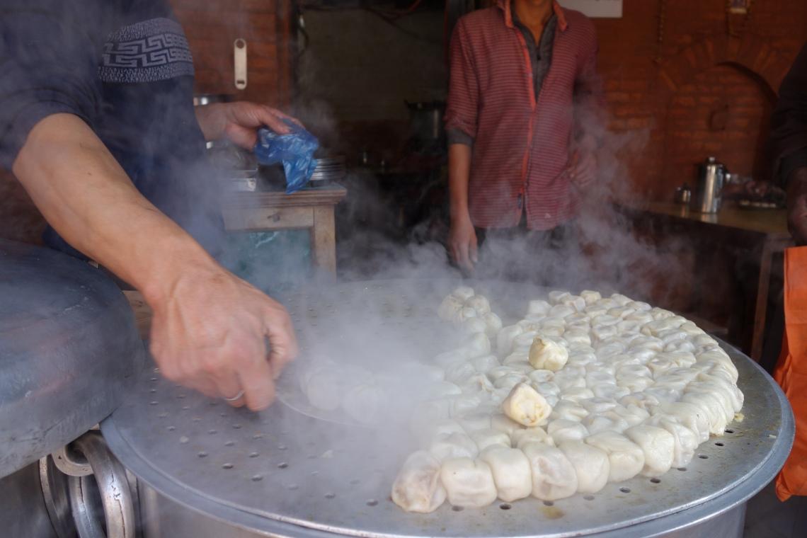 steamed momos kathmandu nepal travel blog nepali cuisine