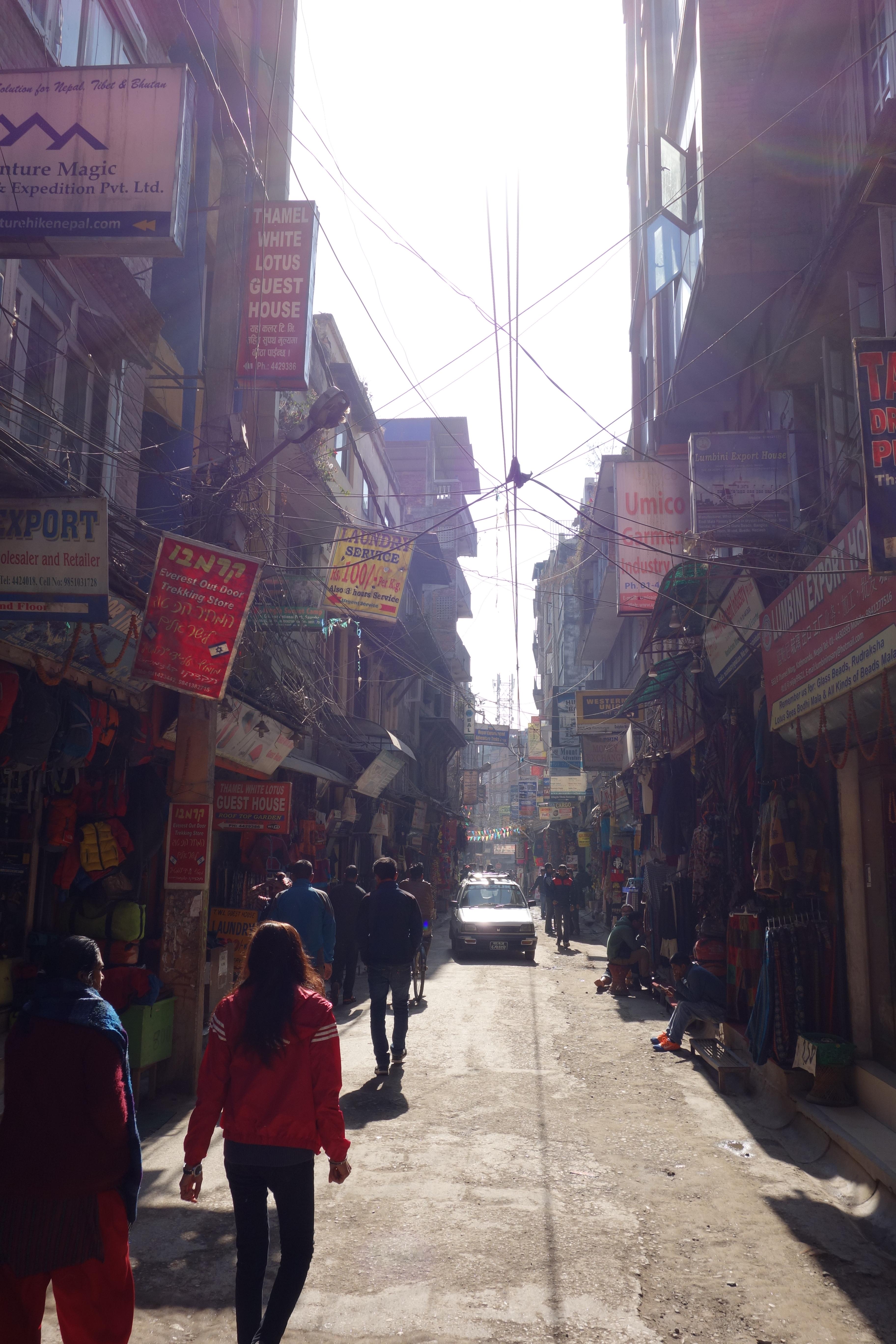 thamel kathmandu nepal travel blog backpacker solo travel trekking