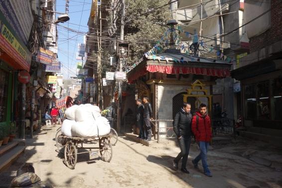 The streets of Thamel, Kathmandu.