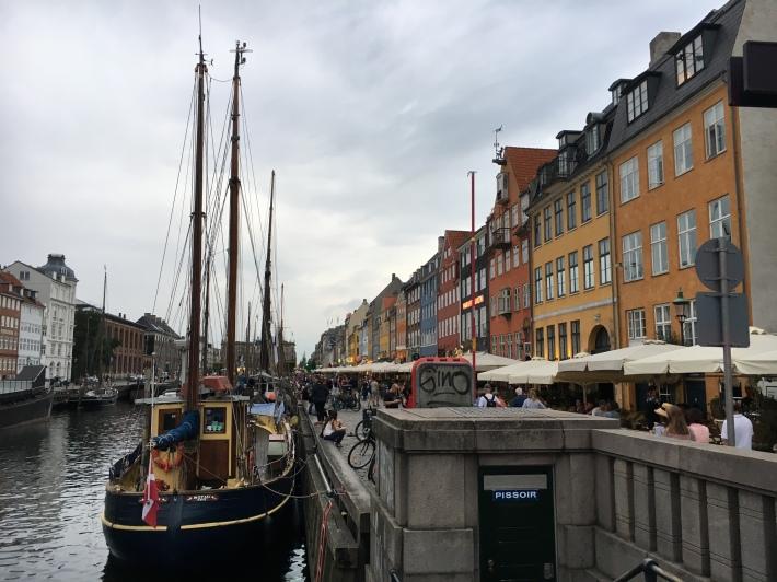 Copenhagen's historic waterfront, Nyhavn.