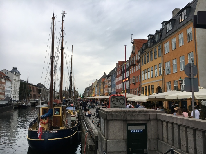 Copenhagen's historic waterfront, Nyhavn.
