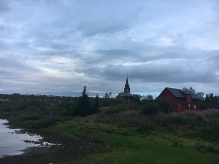 Guovdageaidnu is a sleepy, quaint place.