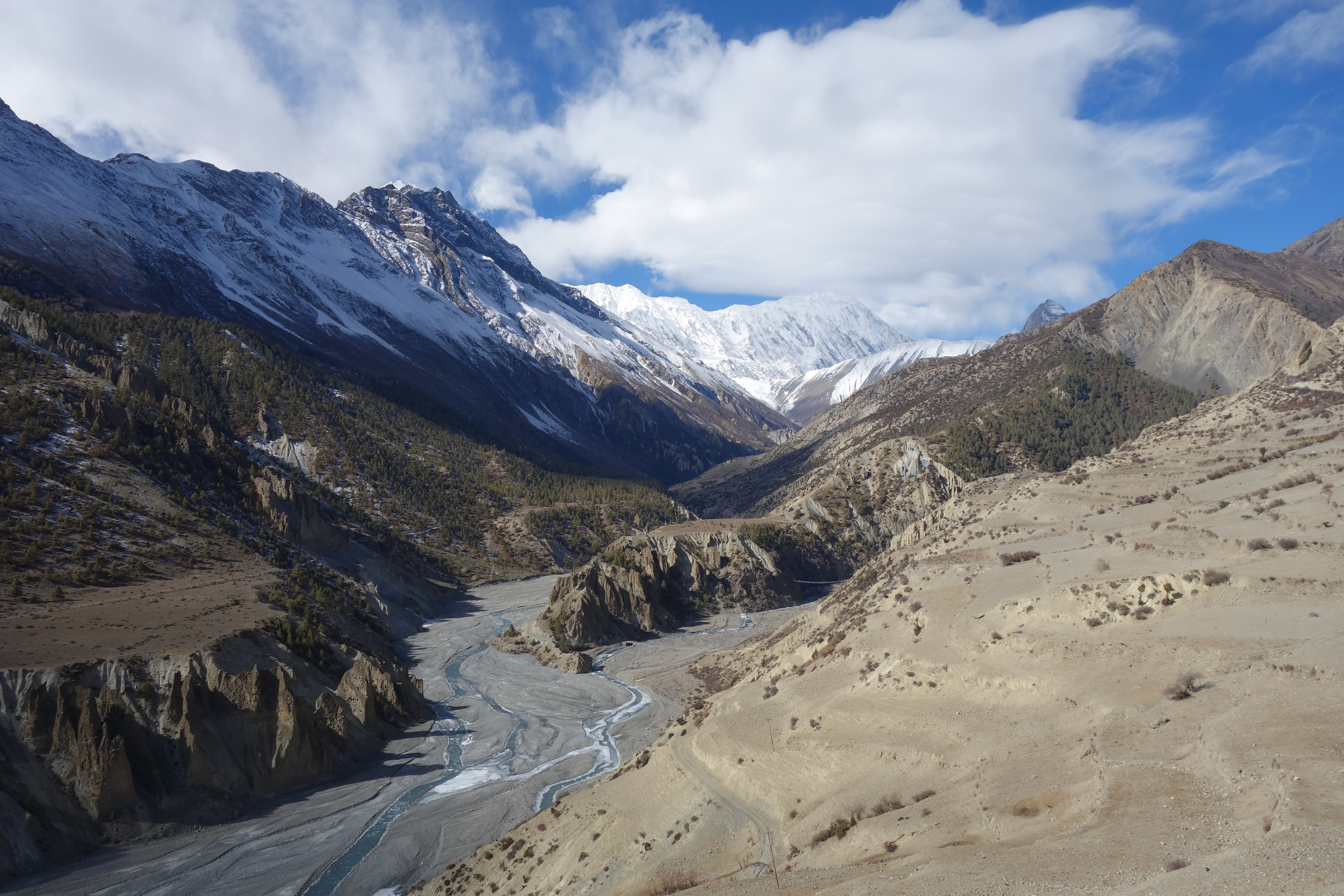 26b9d4428659 Trekking the Annapurna Circuit in winter Part 2  Upper Pisang to Muktinath