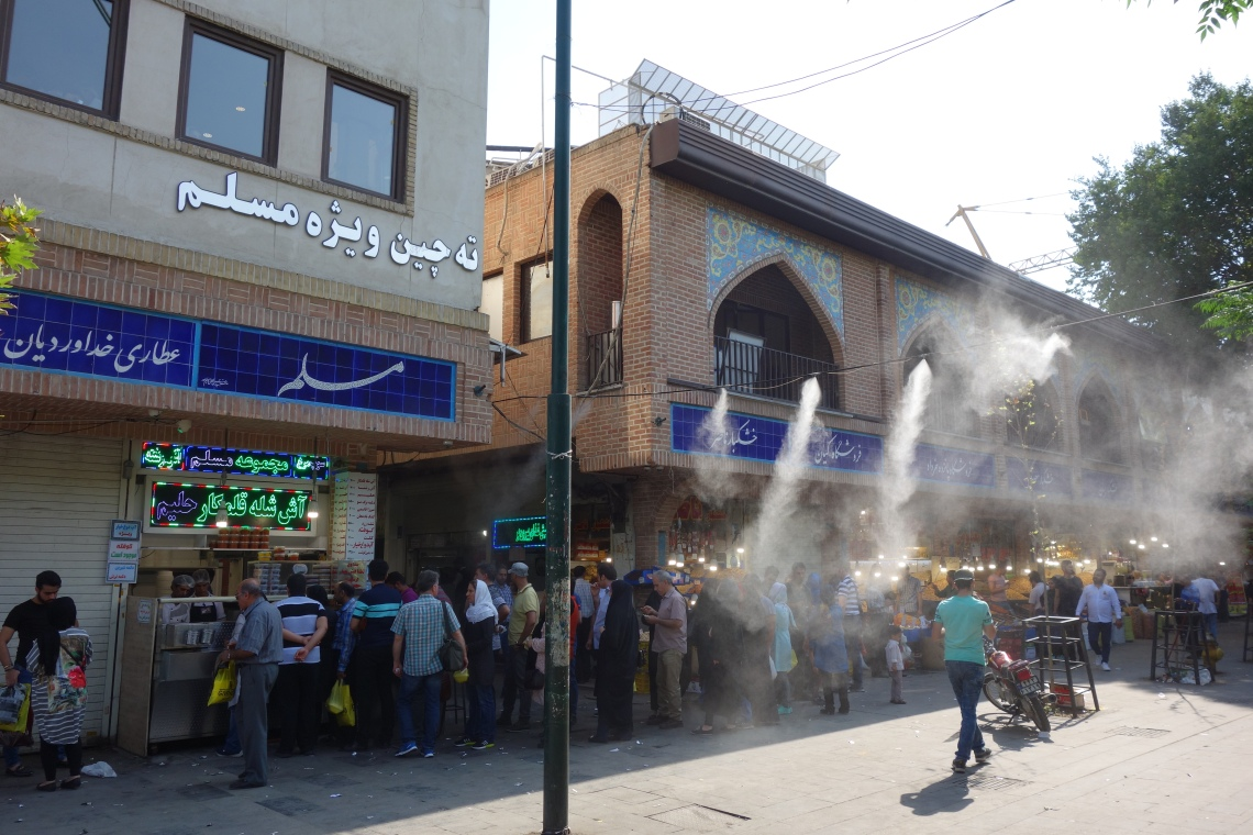 moslem restaurant tehran gran bazaar iran food blog tachin