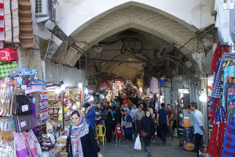 The entrance to the Grand Bazaar.