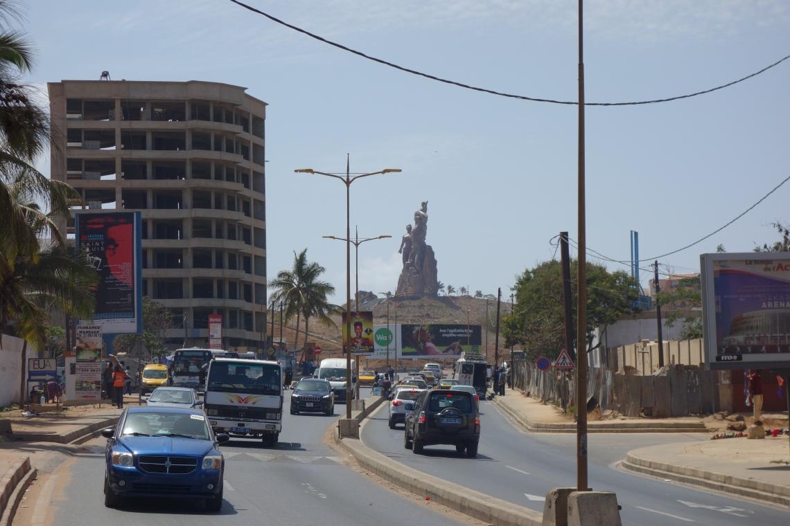 african renaissance monument surroundings monument de la renaissance africaine dakar senegal (1)