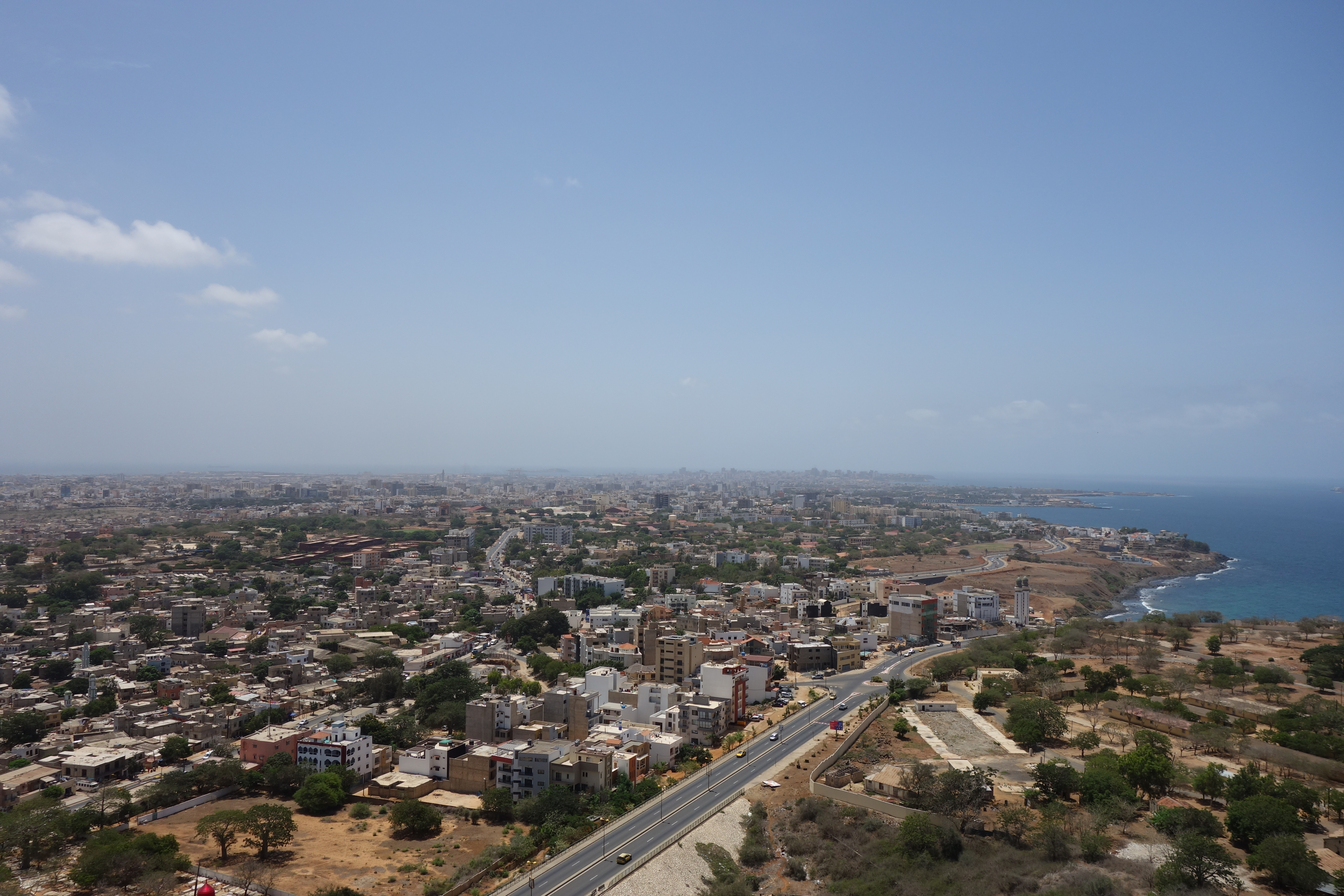 african renaissance monument view monument de la renaissance africaine dakar senegal travel blog (1)