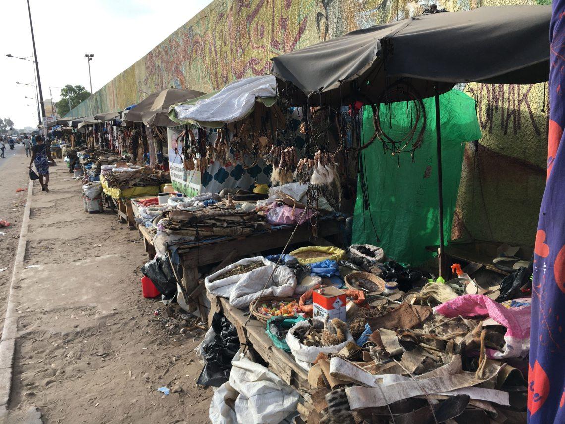 fetish market voodoo vodou dakar senegal travel blog
