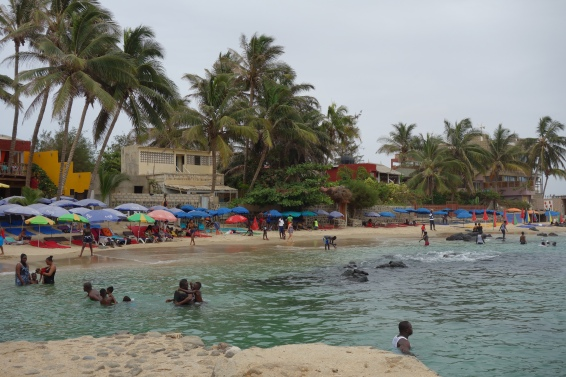 The small beaches on the Ile de Ngor are a popular escape among Dakarois.
