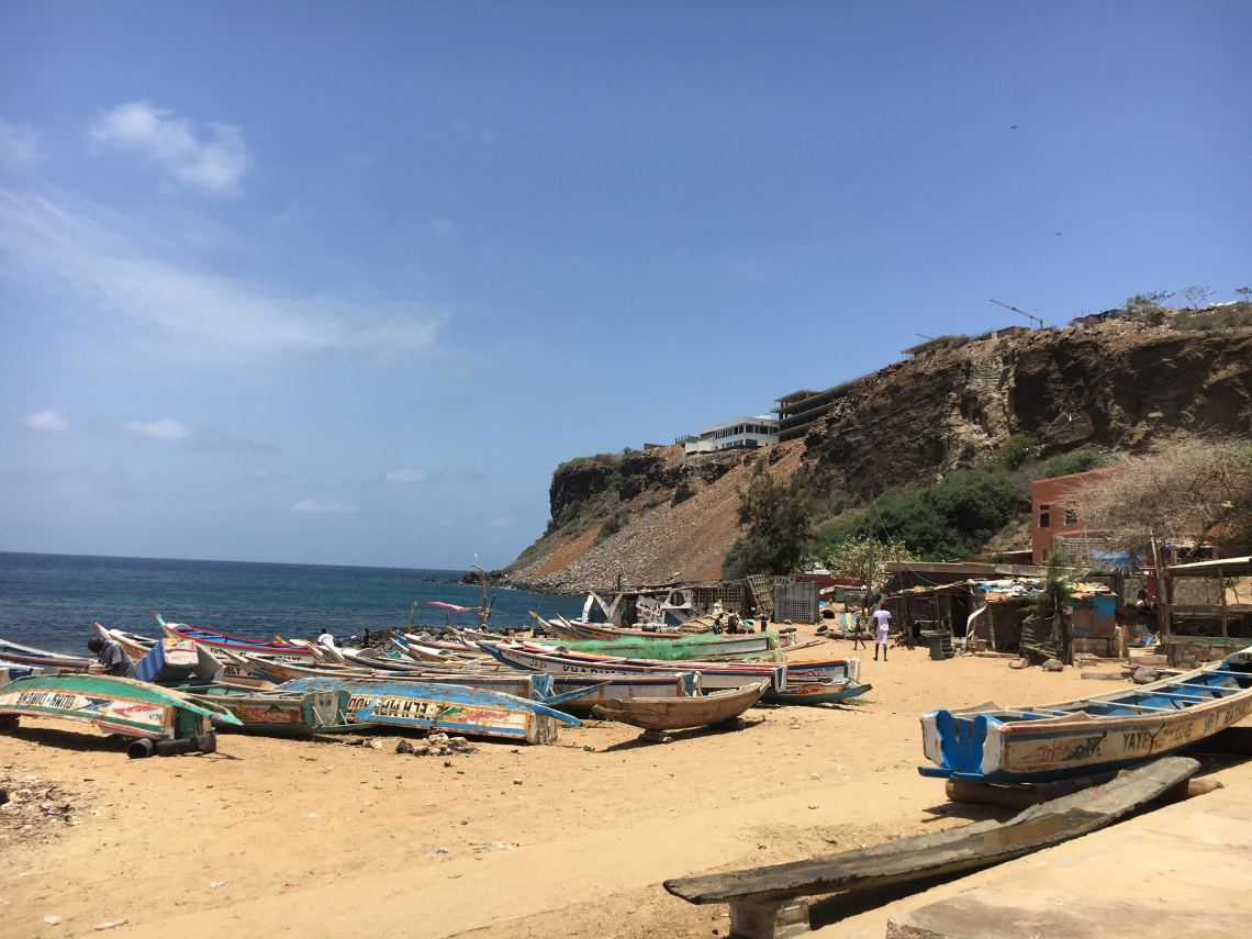plage de ouakam beach dakar travel blog