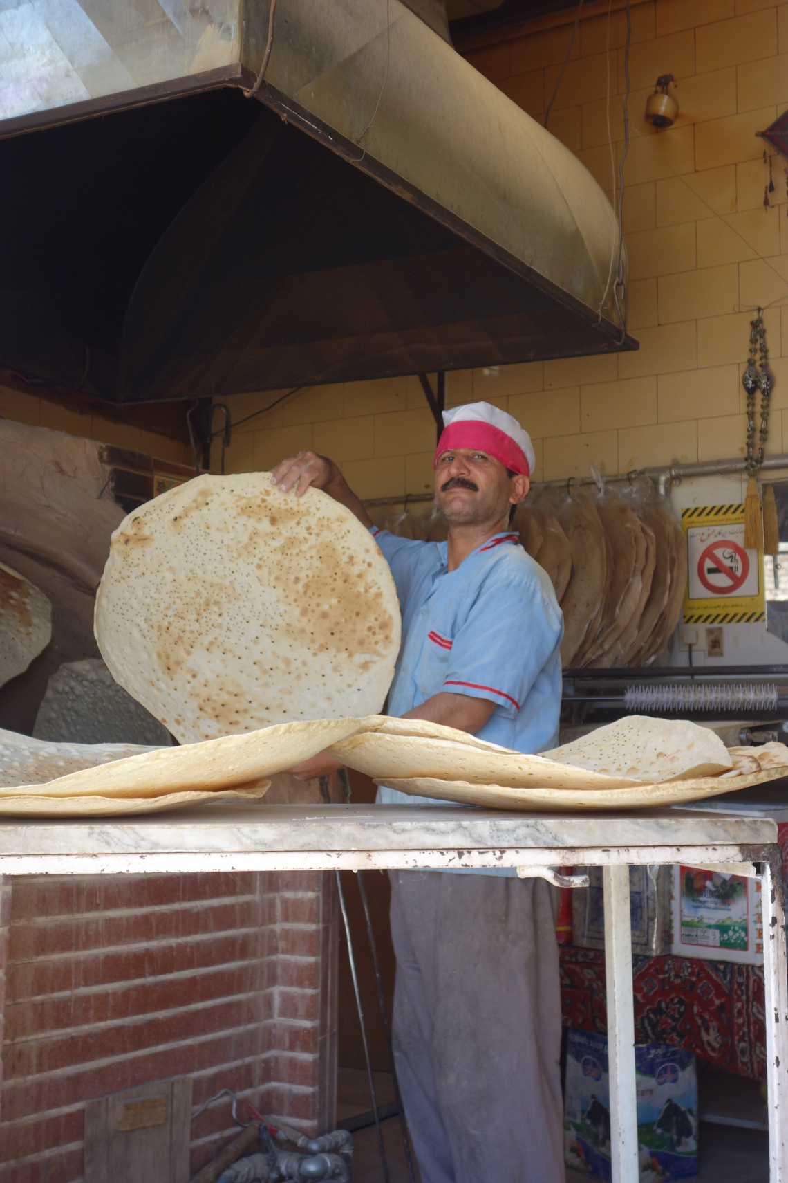 bakery kashan iran bread food blog (3)