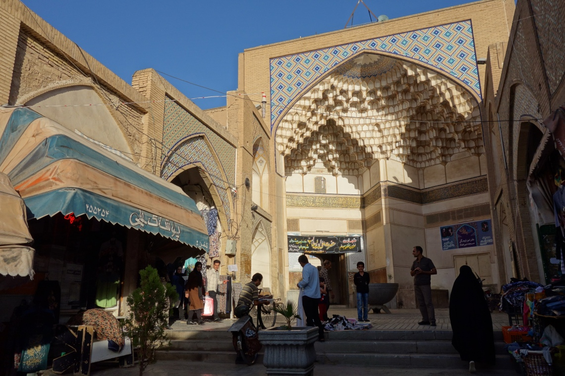 bazaar kashan iran travel blog (1)