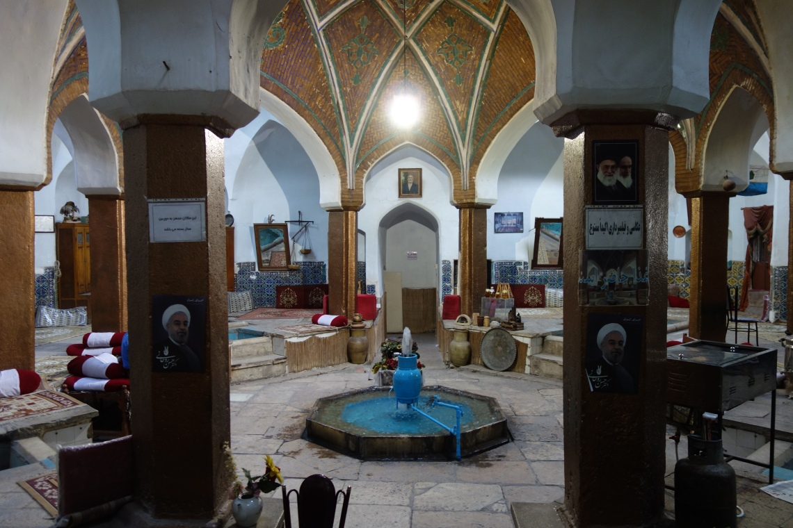 kashan hamman cafe restaurant travel blog