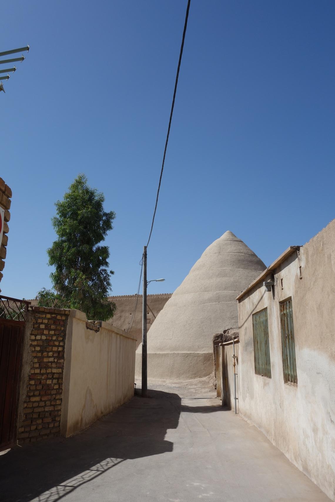 yakhchal ice house kashan iran